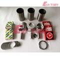Motor rebuild kit Für Isuzu motor teile 3KR2 kolben kolben ring zylinder liner volle dichtung kit motor lager-in Kolben  Ringe  Stäbe & Teile aus Kraftfahrzeuge und Motorräder bei