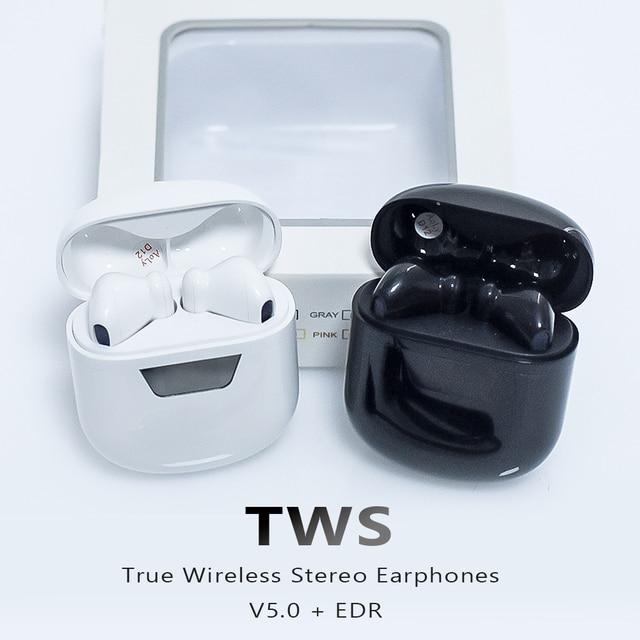 NOKEVAL B55 اللاسلكية TWS سماعة بلوتوث صغير 5.0 سماعات الرياضة سماعة مع علبة شحن للهاتف الذكي شاومي سامسونج ممن لهم