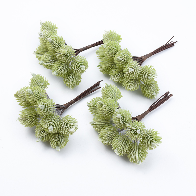 10pcs Cheap Artificial Plants Christmas Decorations For Home Wedding Decorative Flowers Wreaths Diy Gifts Box Household Products