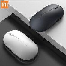 Original Xiaomiไร้สายเมาส์ 1000DPI 2.4GHz WIFI Link Optical MuteแบบพกพาMiniโน๊ตบุ๊คแล็ปท็อปสำหรับเล่นเกมแผ่น