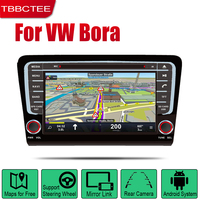 TBBCTEE Android Car DVD GPS Navi for Volkswagen VW Bora 2013~2018 player Navigation WiFi Bluetooth Mulitmedia system audio
