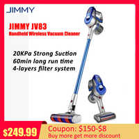 Original JIMMY JV83 2-In-1 Multifunction Handheld Lightweight Cordless Vacuum Cleaner 20KPa Powerful Dust Collector For Car Home
