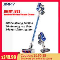 Original jimmy jv83 2-em-1 multifunções handheld leve sem fio aspirador de pó 20kpa poderoso coletor de pó para casa do carro