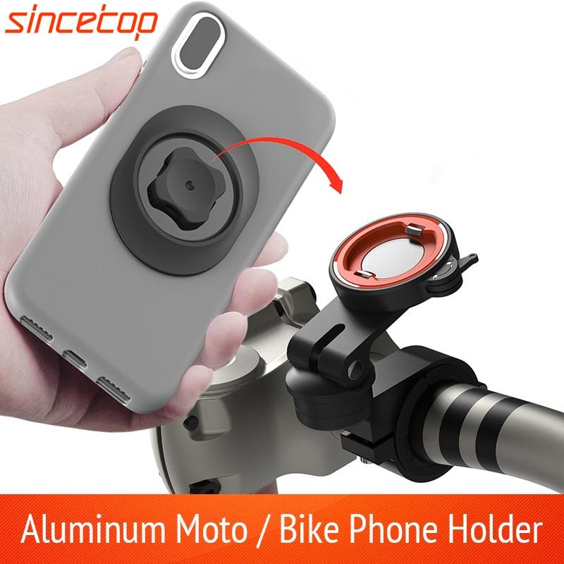 Универсальный мотоцикл велосипед мобильный телефон держатель велосипед мото алюминий Quick подставка для крепления на руль для горного вело...