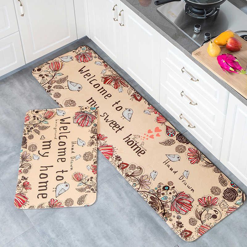 Felpudo antideslizante cocina sala de estar alfombra/alfombrilla de baño suelo de entrada hogar alfombrilla para pasillo alfombras área alfombra de cocina hogar 10 estilo
