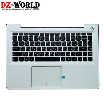 New/orig Palmrest Upper Case With Russian Keyboard Touchpad for Lenovo U31-70 Ideapad 500S-13ISK 300S-13ISK C Cover 5CB0J30992