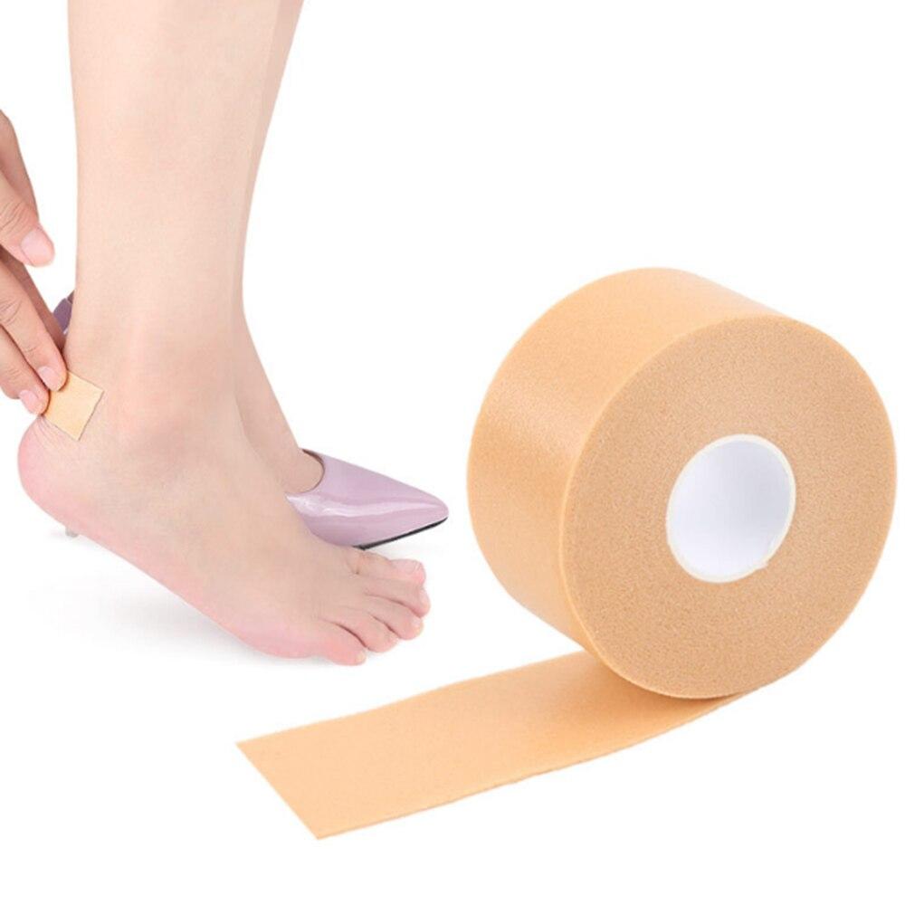 2020 Hot New 1 Roll Foot Waterproof Heel Sticker Foam Tape Wear-resistant High-heeled Shoes Patch Toe Protector Foot Care Tool