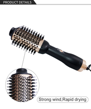 hot air brubsh cool air 2019 newest comb Hair Dryer Blow Dryer Hair Curling Iron Rotating Brush Hair dryer Pro 2 In 1