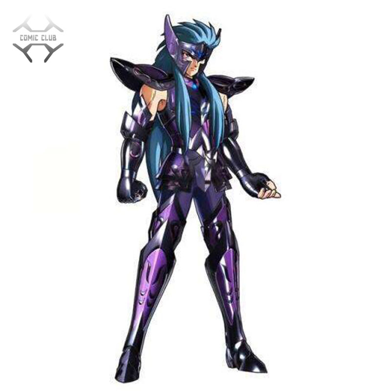 COMIC CLUB INSTOCK mc <font><b>Saint</b></font> <font><b>Seiya</b></font> Specters gold <font><b>saint</b></font> EX <font><b>Aquarius</b></font> Camus action figure <font><b>Cloth</b></font> <font><b>Myth</b></font> Metal Armor image