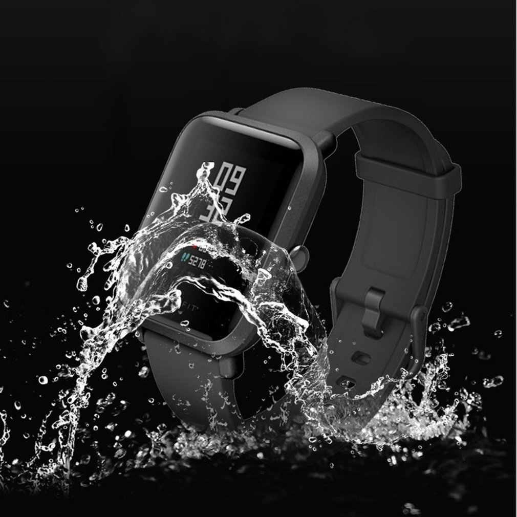 Мягкий ТПУ HD прозрачная защитная пленка для Xiaomi Huami Amazfit Bip BIT PACE Lite Смарт-часы Полный Экран Защитная крышка