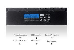 Image 2 - Bateria de computador portátil kingsener, bateria para dell latitude e7240 e7250 w57cv 0w57cv gvd76 vfv59 7.4v 45wh