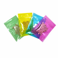 DHL Self Sealing Zip Lock Clear Plastic Pouches Moisture Proof Resealable Zipper Pack Storage Bag Dried Flowers Clothes Packing