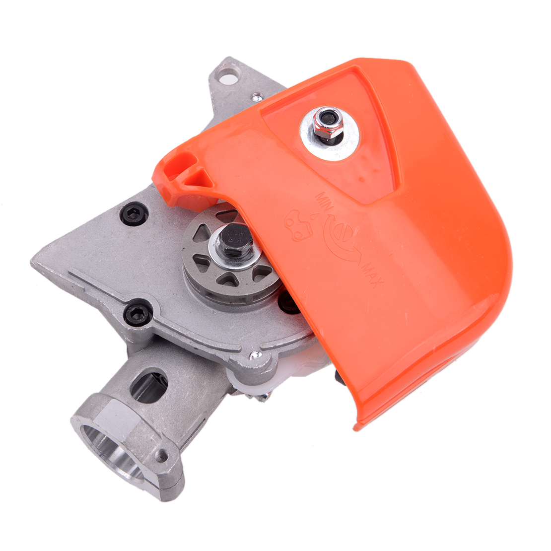 Tools : 4 Teeth Universal 26mm Gearbox Gear Head fit for Pole Saw Tree Cutter Chainsaw