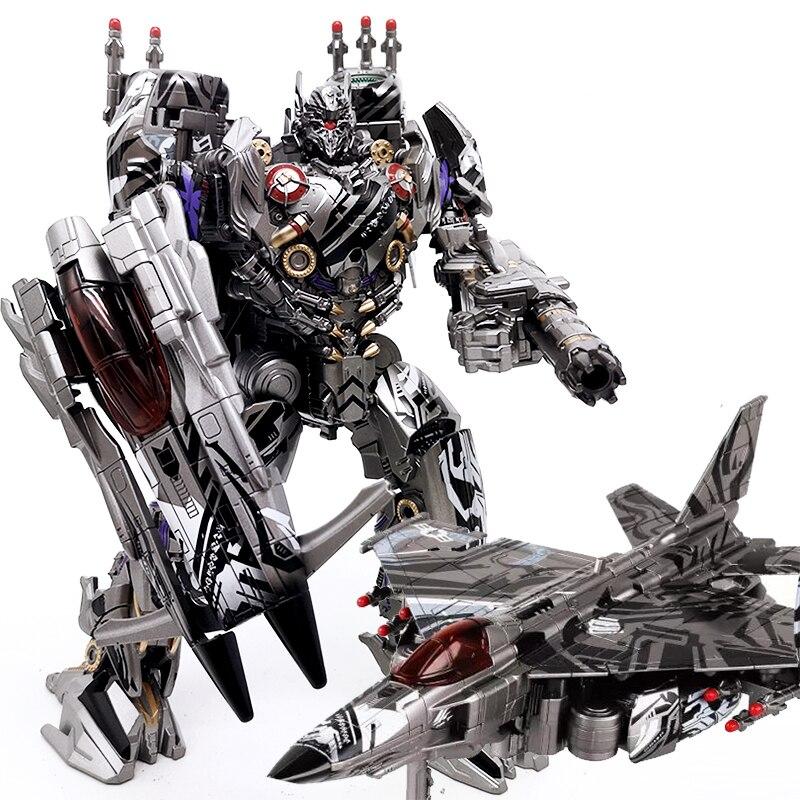 BMB LS01S Seibertron Ghost Nitro Zeus Transformation Black Mamba LS-01 KO Alloy Figure Robot Collection Children Gift Toys