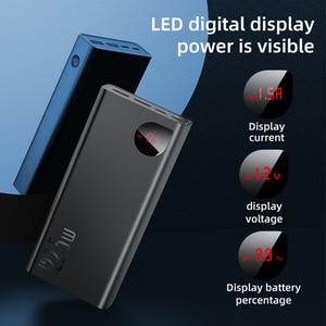 Baseus Power Bank 30000mAh mit 20W PD Schnelle Aufladen Power Tragbare Externe Batterie Ladegerät Für iPhone 12 Pro xiaomi Huawei|Powerbank|   -
