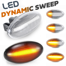 LED איתות צד סמן אורות נצנץ מנורת לסיטרואן ברלינגו קסארה פיקאסו עצבני האליזה Crosser לשגר C1 C2 C3 c4 C5