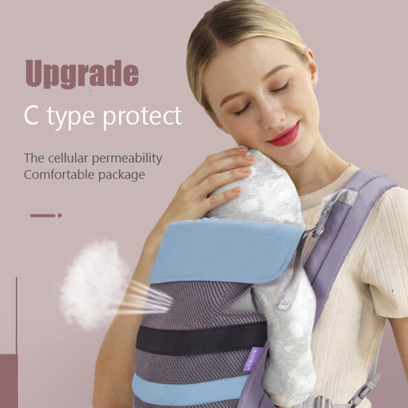 Baby Sling Backpack Hipseat Ergonomic-Kangaroo Safety Infant Belt Comfortable Adjustable