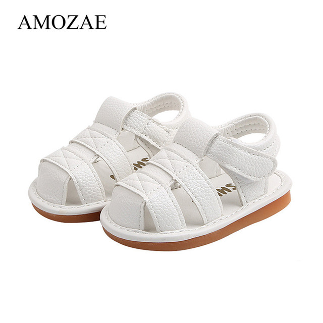 2020 Summer Baby Shoes Baby Boys Baby Girls Shoes Crystal Princess Shoes Toddler Cute PU Leather Flat Shoes Hard Sole Shoes