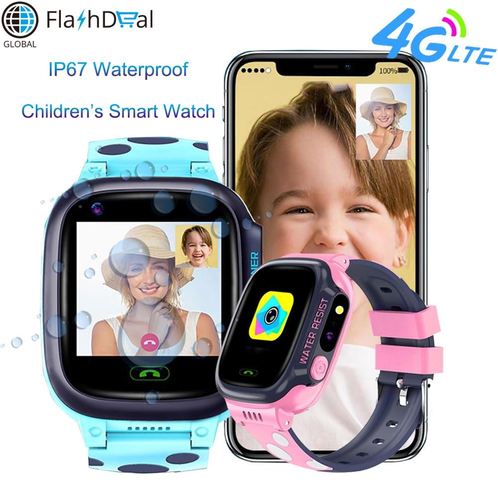 Y95 Child 4G Smart Watch Phone GPS Kids IP67 Waterproof HD Video Call WIFI Chat Antil-Lost SIM Location Tracker Smart Watch