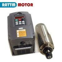 2.2KW 220V ER20 water cooling spindle & 2.2KW 220V  inverter VFD for CNC lathe machine