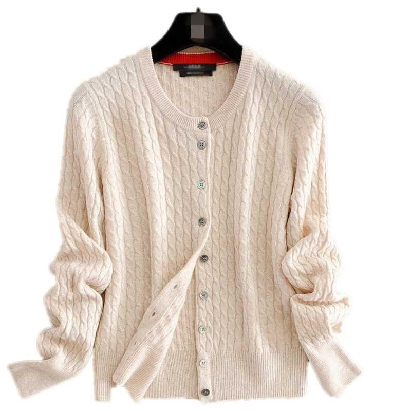 2019 새로운 여성 캐시미어 스웨터 양모 라운드 목 카디 건 가을 겨울 스웨터 카디 건 긴 소매 스웨터 코트 여성