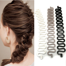 1pcs Fish Bond Waves Braider Tool Roller Lady French Hair Br