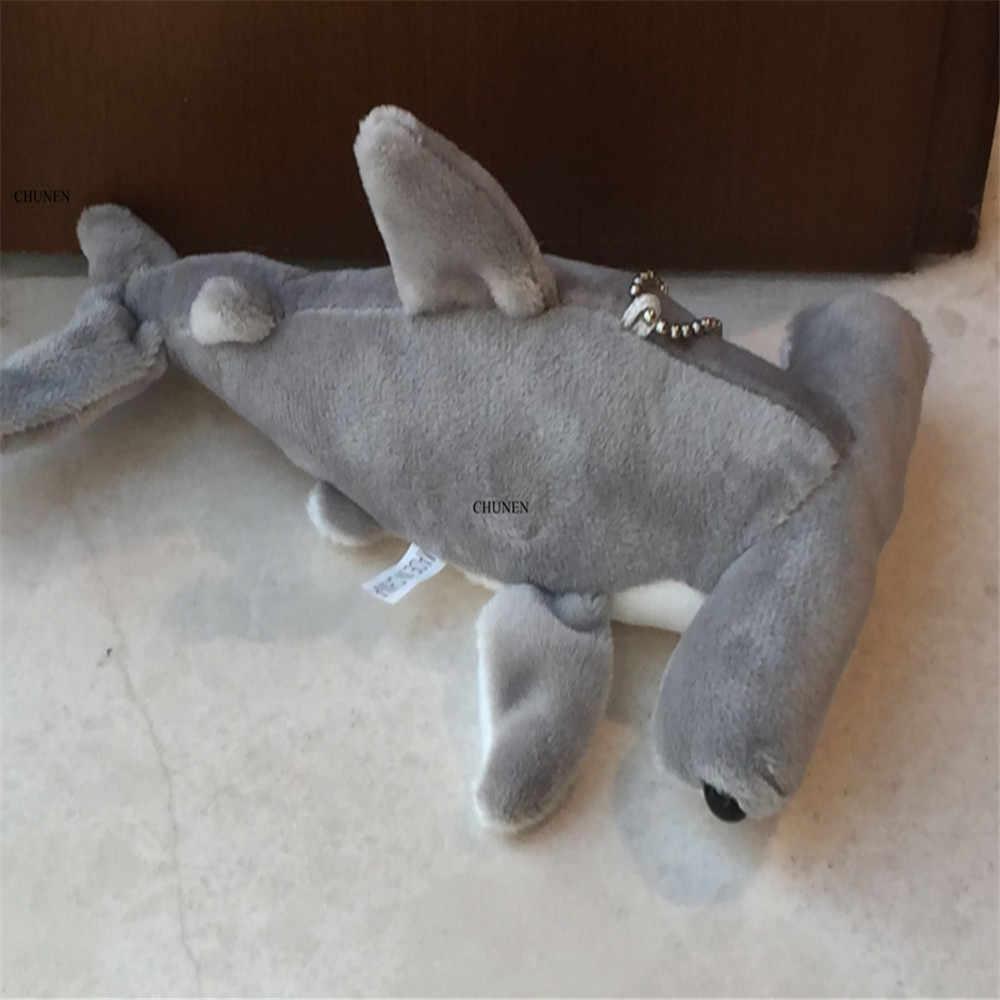 חמוד בפלאש כריש, 7 סנטימטר 14cm 18CM 3 גדלים, כריש בפלאש צעצוע בובת; ממולא בעלי החיים keychain צעצועים