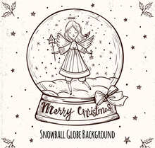 ZhuoAng Crystal ball Claus Clear Stamps For DIY Scrapbooking/Card Making Decorative Silicon Stamp Crafts