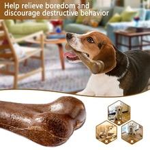 2021 Favor Crystal Leather Pressing Bone Durable Leather Cowhide Bone Teeth Clean Stick Dog Treats Bone Pet Accessories Supplies