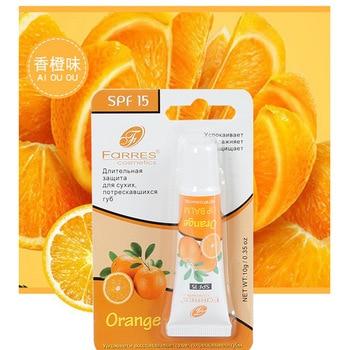 Farres moisturizing lip oil fruit orange apple strawberry taste anti- crack lip essence long lasting transparent lip balm AM141