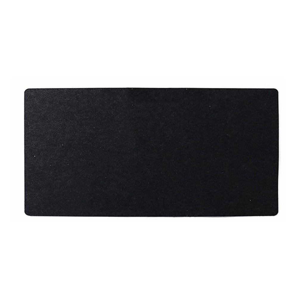Simple Felt Cloth Mouse Pad Keyboard Cushion Office Home Desk Mat Supplies 630 X 325 X 2mm Black/ Dark Grey