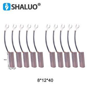 Image 1 - 10 個の高品質銅電気モーター用カーボンブラシ 8*12*40 ミリメートルブラシ発電機部品