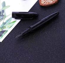 LIY Black Fountain Pen Resin Ink Pen EF/Fine Nib Converter Filler Stationery Office school supplies Writing Pens Gift