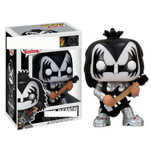 Funko POP KISS Guitarist Bass Drummer Demon Catman Vinyl Action Figure Model Kids Toys(China)