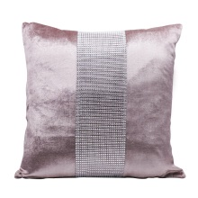 Декоративный чехол для подушки из фланели с алмазной вставкой современный простой чехол для подушки Чехол вечерние гостиничный домашний текстиль 45 см* 45 см