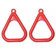цена на 2x Children Swing Set Stuff Fitness Triangle Rings Climbing Entertainment Parent-child Interactive Indoor Outdoor Play Equipment