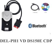 2021 vd tcs cdp Obd Obd2 סורק 2017.R3 Bluetooth לרכב משאיות אבחון כלי + 8 Pcs רכב כבלים