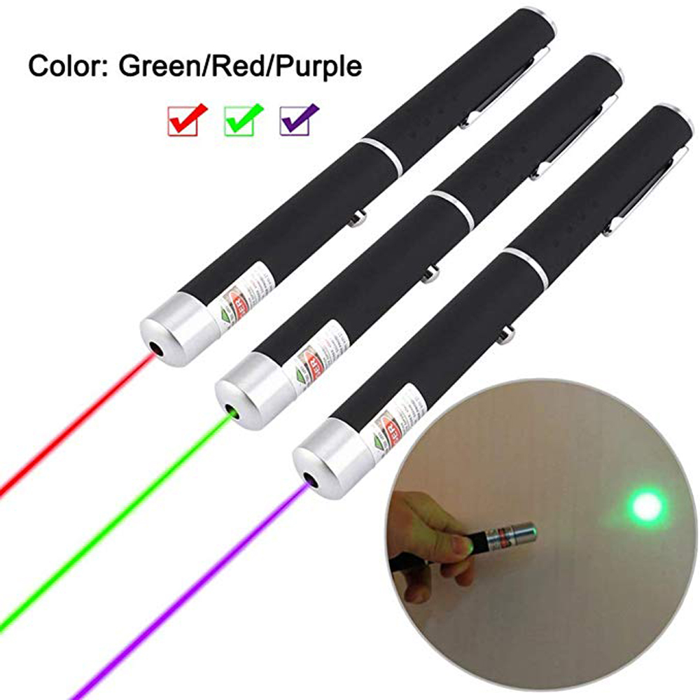 Tactics Red Dot Laser Pointer 5MW High Power Blue Green Lasers Light Pen Powerful Hunting Travel survival tool