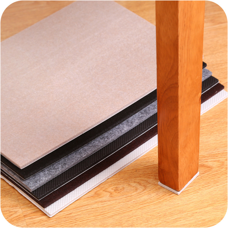 21*30cm Thick Anti Slip Adhesive Furniture Leg Caps Chair Feet Protection Pad DIY Cutting Cabinet Mats For Sofa Wooden Floor