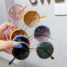 Fashion Kids Sunglasses Polarized Metal Frame Sun Glasses Girls Boys Flower Children's Mirror Baby Eyeglasses Uv400 Summer Beach