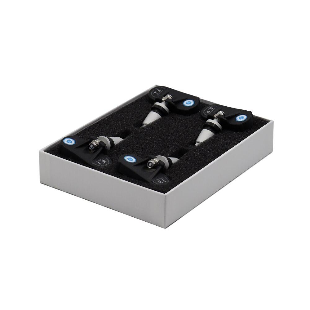 EANOP BLE TPMS Drahtlose App Display Auto Reifendruck Monitor System 4 Interne/Externe Sensoren Geeignet für iOS/android DVD