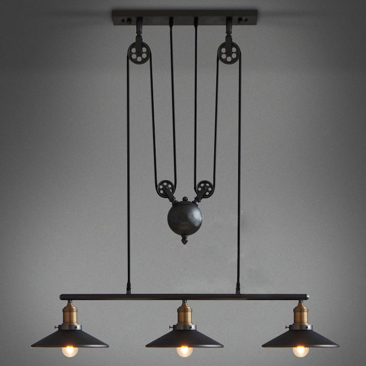 Nordic Modern Simple Living Room Line Pendant Lights Black Bedroom Restaurant Lamp Cafe Bar Hanging Deco String Lamp Luminaire