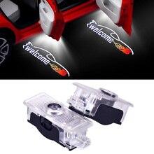 1-20 пар гоночный автомобиль логотип Автомобильный Дверной светильник светодиодный для Mercedes Benz CLA CLS E E350 E220 автомобильный Стайлинг эмблема вежливое Добро пожаловать проектор