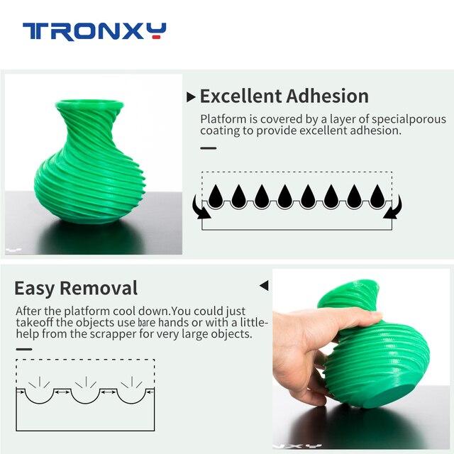 3d принтер tronxy 220*220/330*330 мм стеклянная плита используемая