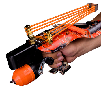 slingshot fishing judge professional powerful  precision wheel  laser hand guard bow Outdoor Hunting Catapult