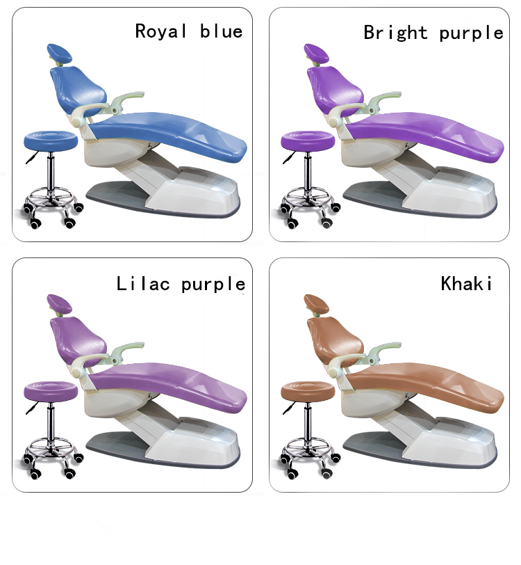 Dental TPU Material Dental Comprehensive Treatment Chair Cover Seat Cover Waterproof Dust-proof Thick  Dentist Equipment Set