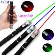 Высокомощная лазерная указка 5 мВт, Регулируемый Лазерный фонарь, зеленый, синий, красный, аксессуары для охоты, игрушки для кошек фонарь Рик...