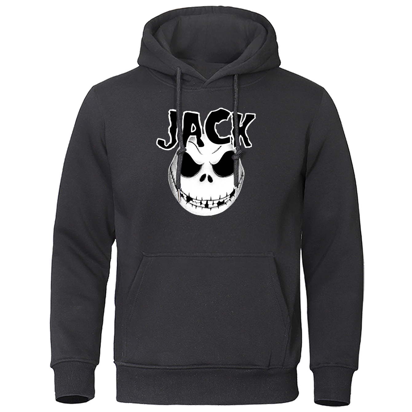 Jack Skellington Sweatshirt Men 2020 Hot Sale Fashion Brand Hoodies Male Novelty Print Halloween Skull Tracksuit Mens Streetwear