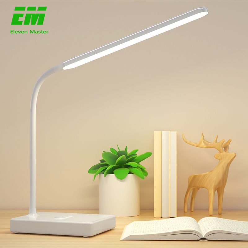 Desk Lamp Touch Table Lamps For Living Room Gooseneck Desktop Foldable Dimmable Eye Protection Study Lamp Led Light ZZD0008(China)