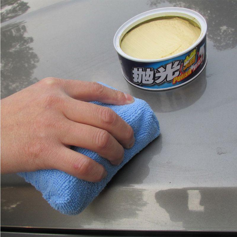13 pcs carro polones cera espuma esponjas conjunto zero livre aplicador almofadas para o automovel 270e